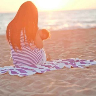 Tips for taking a newborn to the beach