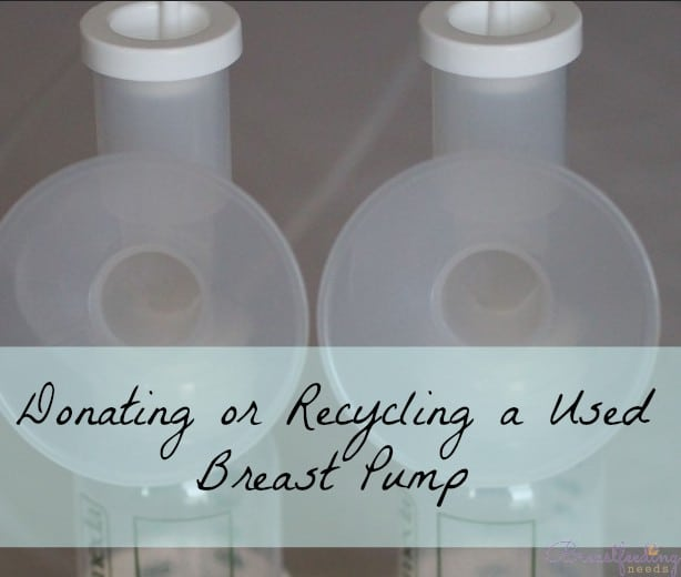 Can I Donate A Used Breast Pump Breastfeeding Needs