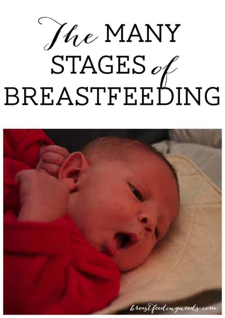 The Many Stages of Breastfeeding