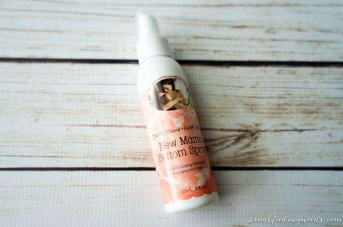 New Mama Bottom Spray from Earth Mama Angel Baby