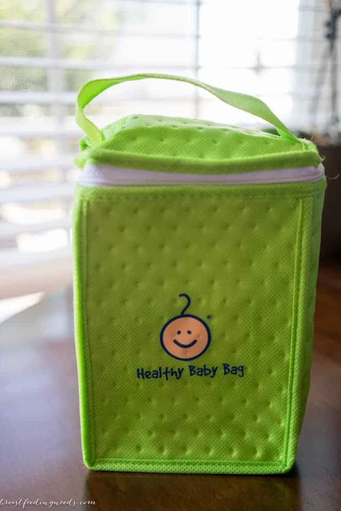 Hospital Breastfeeding Support Bags Instead of Formula Bags
