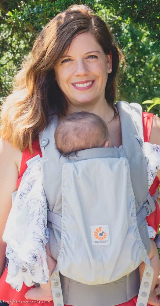 Ergobaby Adapt Baby Carrier Review Breastfeeding Needs