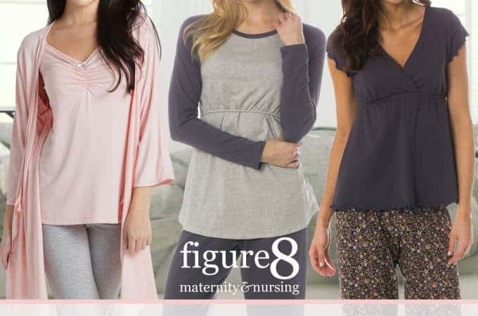 Figure 8 Maternity Stylish Nursing Pajamas