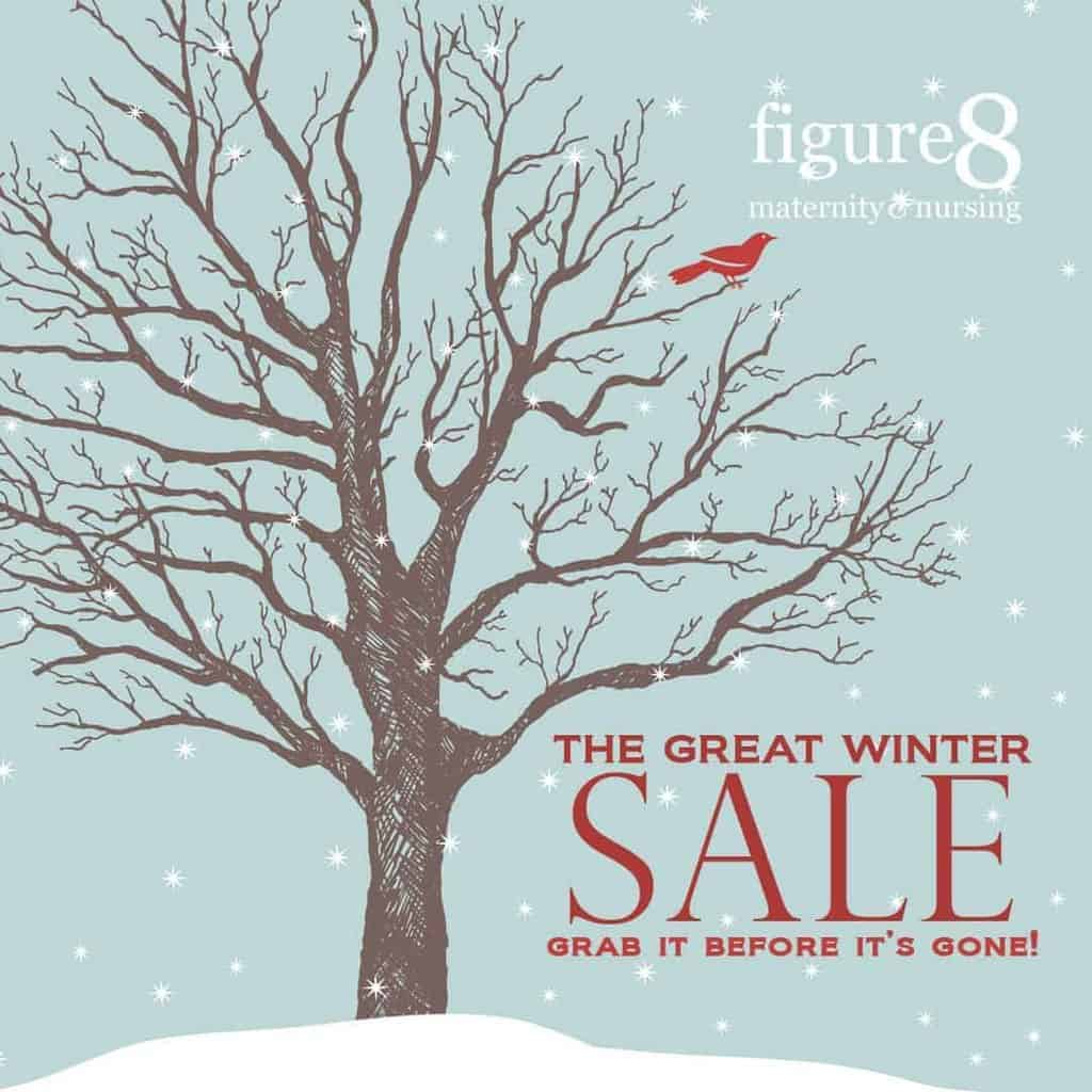 Winter Sale at Figure 8 Maternity