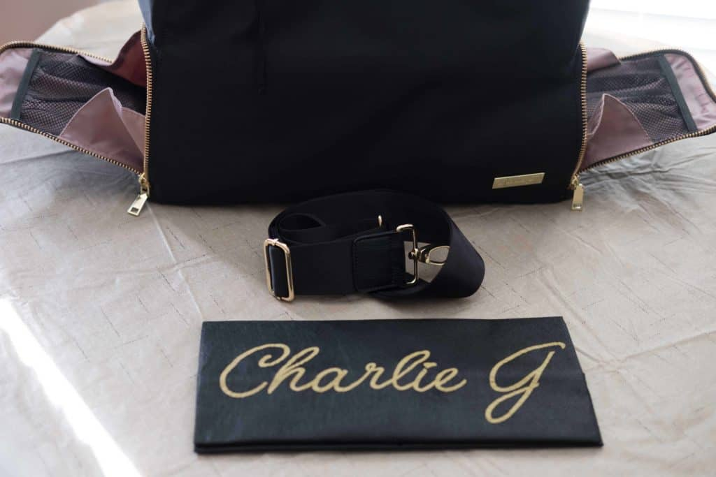 The New Yorker Breast Pump Bag from Charlie G