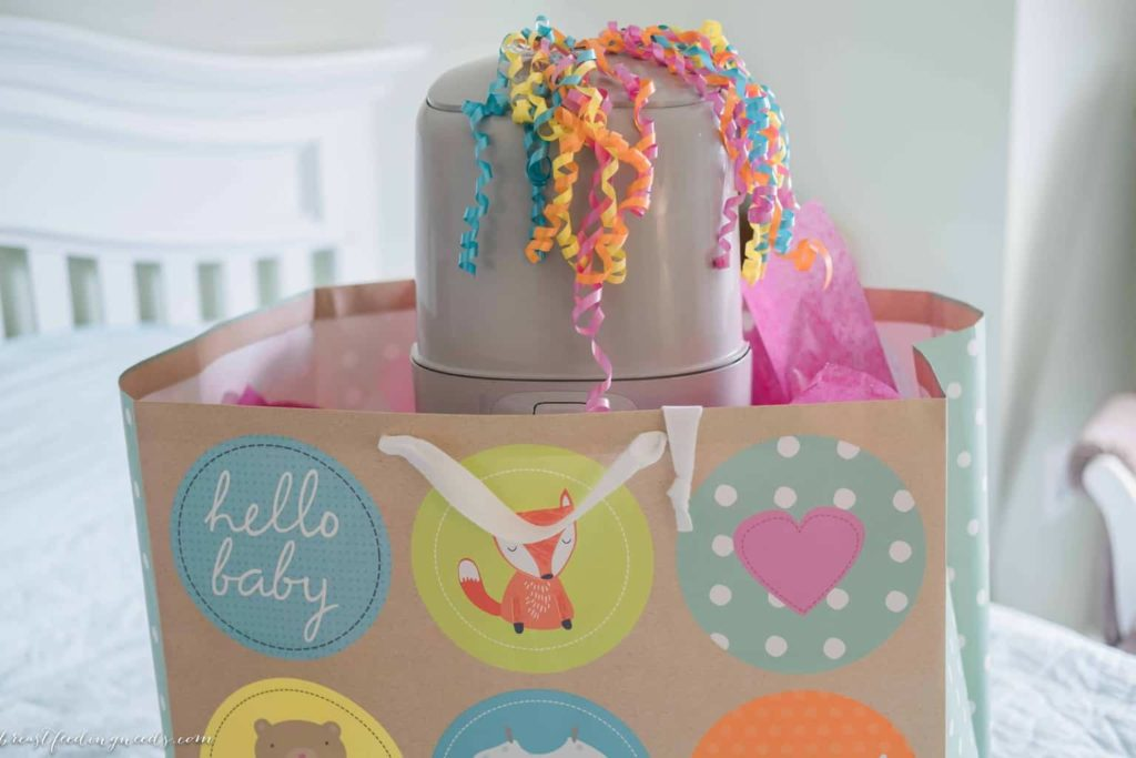 perfect baby shower gift for diaper duty breastfeeding needs