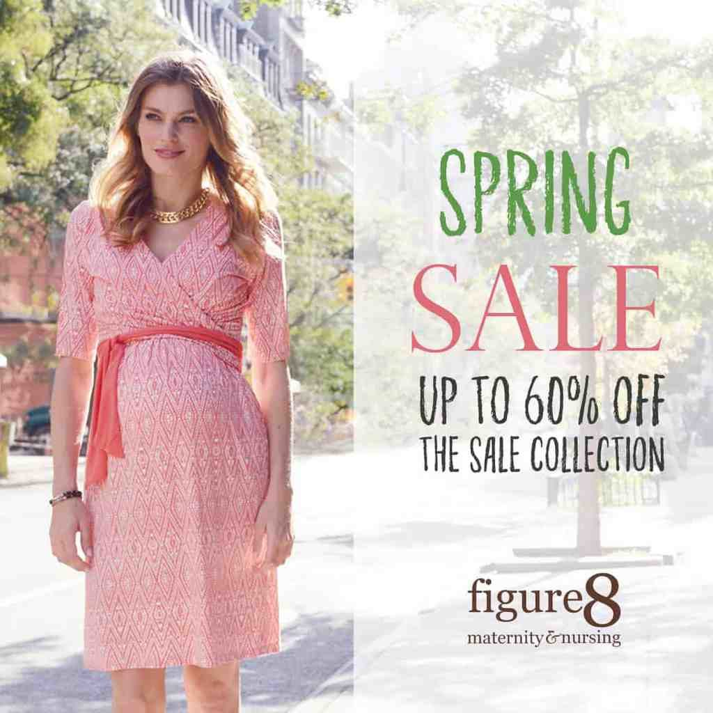 Figure 8 Maternity Spring Sale
