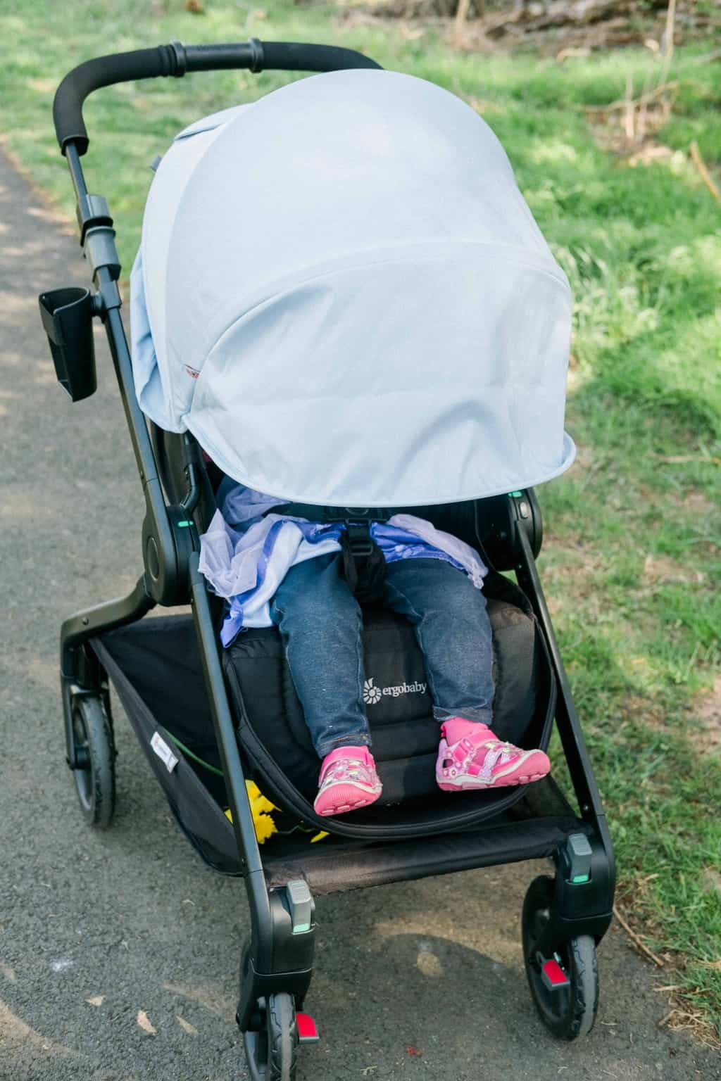 Ergobaby 180 Reversible Stroller Review - Breastfeeding Needs