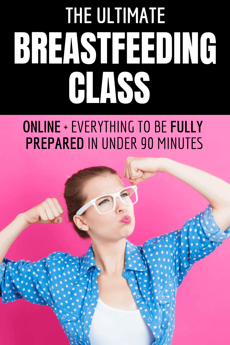 Online Breastfeeding Classes - Prepare to learn to breastfeed online and on demand