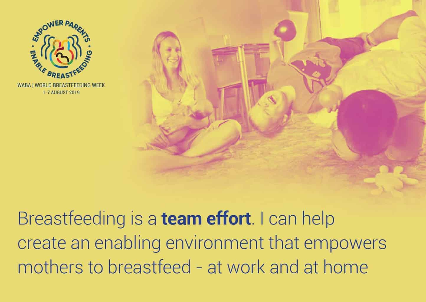 WABA World Breastfeeding Week 2019 - EMPOWER PARENTS, ENABLE BREASTFEEDING